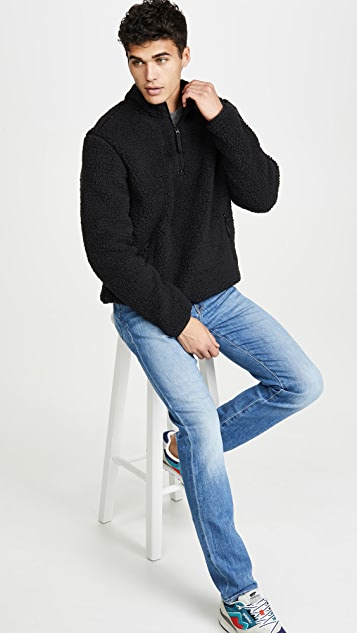 FRAME L'homme Slim Denim In Jaden Wash