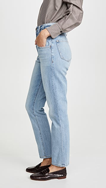 FRAME Retro V Yoke Straight Jeans