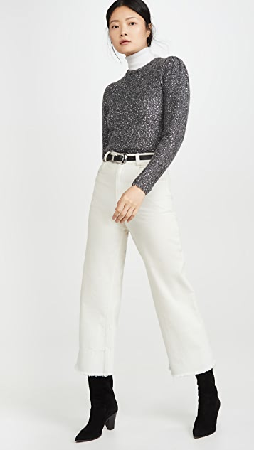 FRAME Sequin Sweater