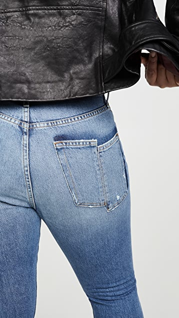 FRAME Le Original Skinny Mix Pocket Jeans