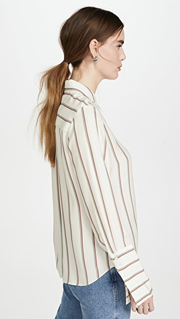 FRAME Long Cuff PJ Blouse