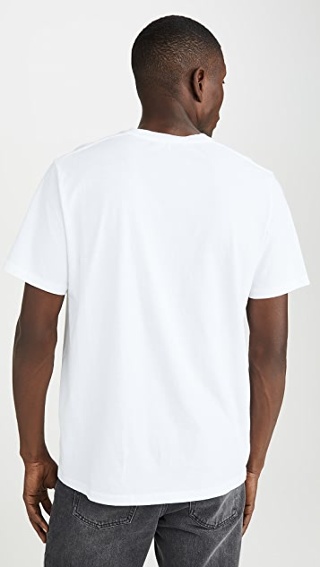 FRAME Short Sleeve Perfect Tee Shirt