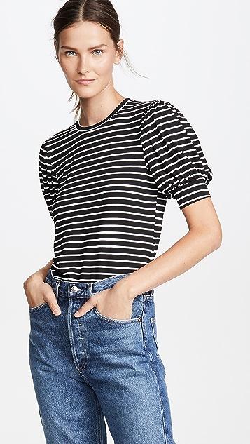 FRAME 灯笼袖 T 恤