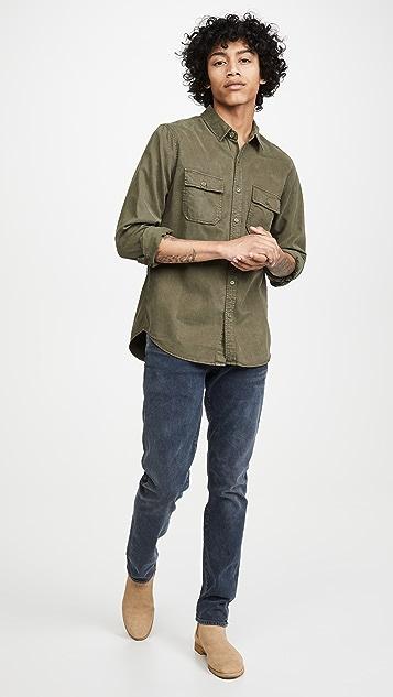 FRAME Double Pocket Shirt Jacket