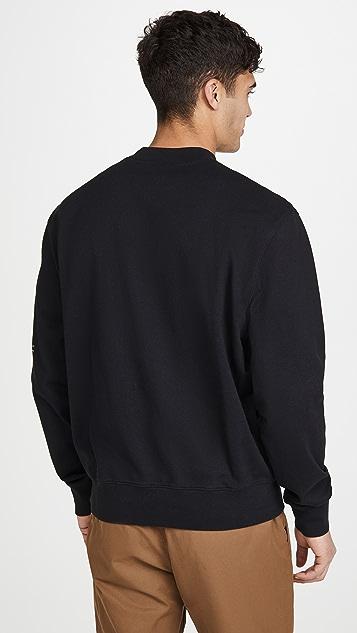 FRAME Coordinates Lounge Crew Neck Sweatshirt