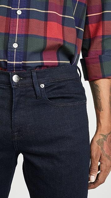 FRAME L'Homme Slim Denim Jeans in Edison Edis Wash