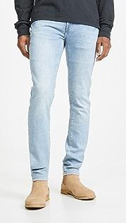 FRAME L'Homme Skinny Denim Jeans in Finn Finn Wash