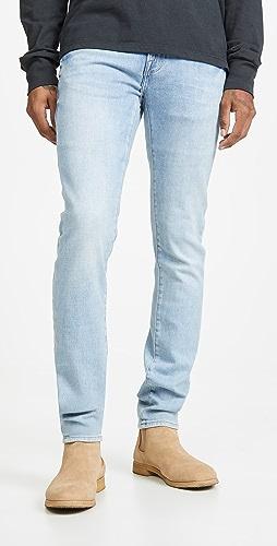 FRAME - L'Homme Skinny Denim Jeans in Finn Finn Wash