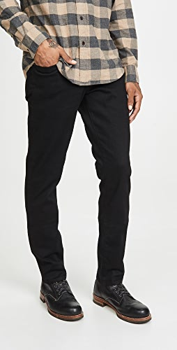 FRAME - L'Homme Slim Denim Jeans in Noir Wash