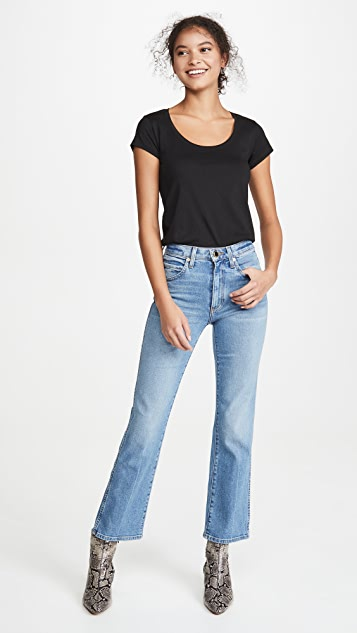 FRAME Le Scoop High Rise Tee