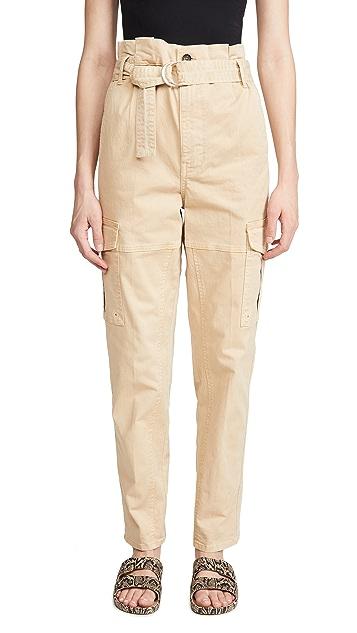 FRAME Safari Belted Pants