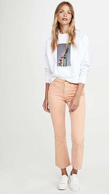 FRAME Le Crop Mini Bootcut Cloud Jeans