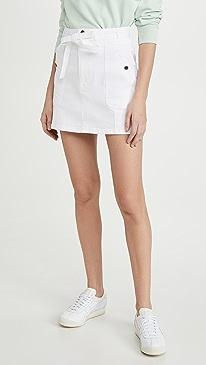 Le Triple Waist Mini Skirt