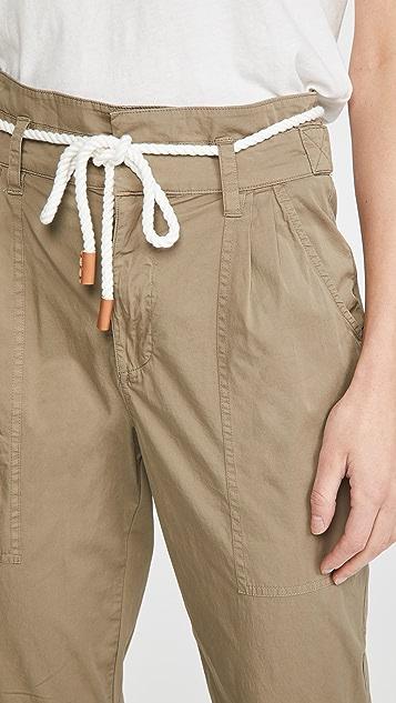 FRAME 休闲裥褶长裤