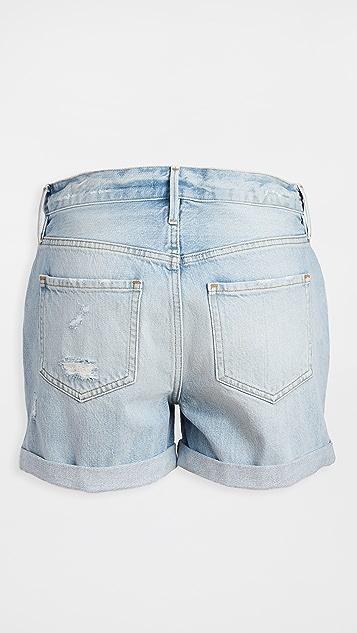FRAME Le Beau Cuff 短裤