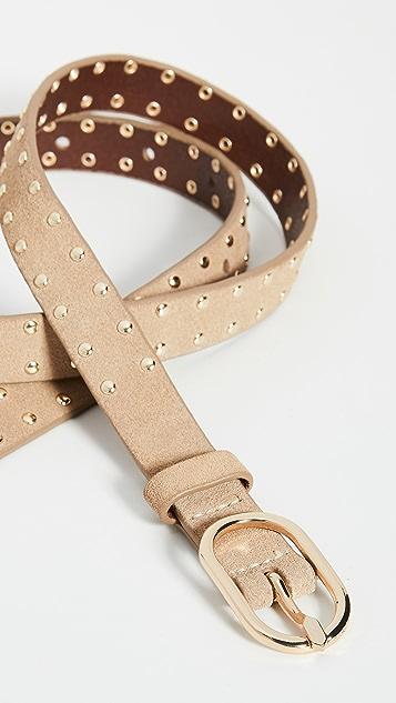 FRAME Petit Studded Oval Belt Buckle