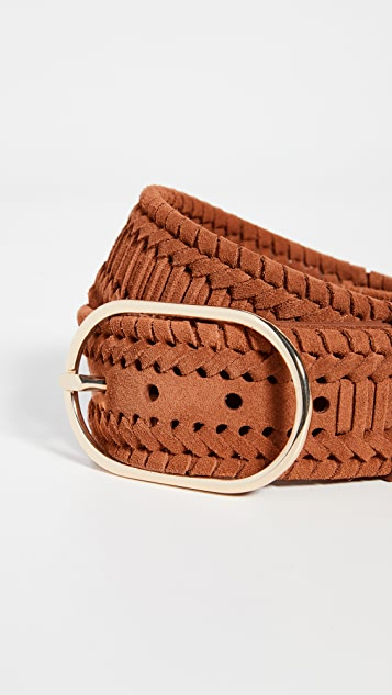 FRAME Grand Oval Braided Belt