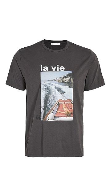 FRAME La Vie Graphic Tee