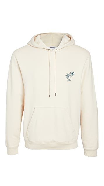 FRAME Palm Logo Pullover Hoodie
