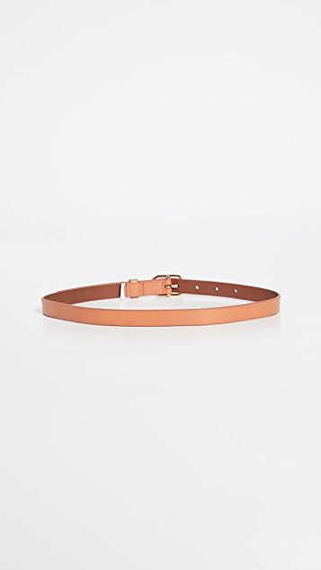 FRAME Petit Oval Buckle Belt