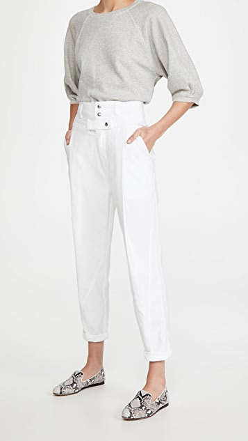 FRAME Twisted Trousers