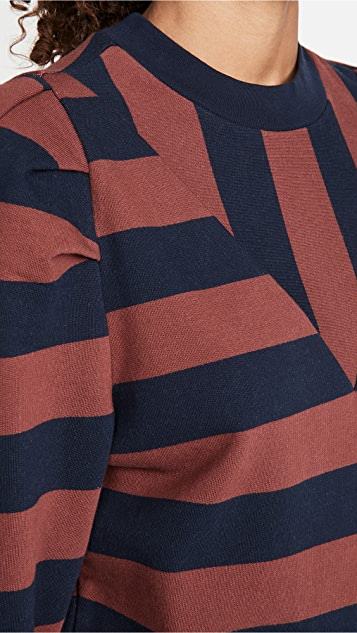 FRAME Rugby 抽褶运动衫