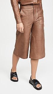 FRAME 皮裙裤