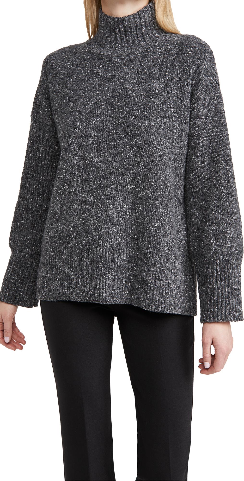 FRAME High Low Turtleneck Sweater