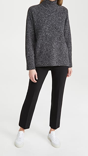 FRAME High Low Turtleneck Sweater