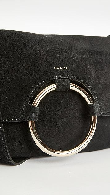 FRAME Le 圆环装饰长方形包