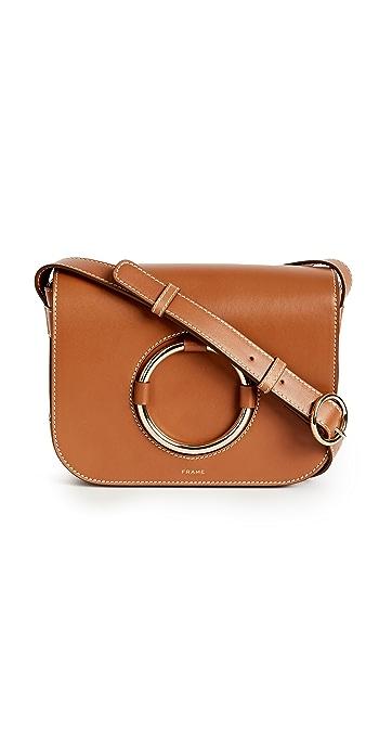 FRAME Le Ring Saddle Bag - Whiskey