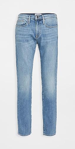 FRAME - L'Homme Slim Jeans in Noland Wash