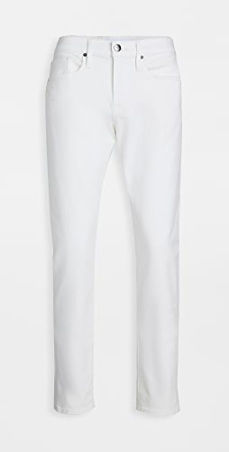 FRAME - L'Homme Slim Jeans in Whisper White Wash