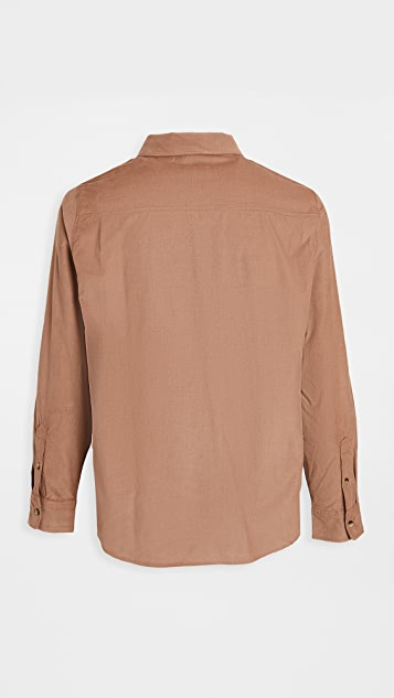 FRAME Long Sleeve Single Pocket Shirt