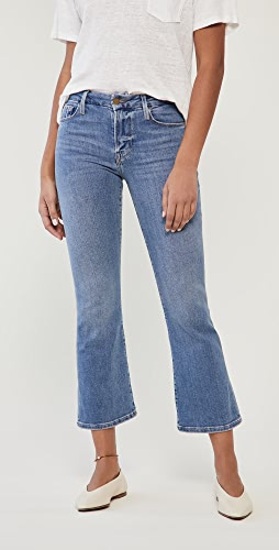 FRAME - Le Crop Mini Boot Jeans