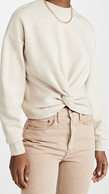 FRAME Twisted Sweatshirt