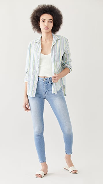 FRAME Le One Skinny Jeans
