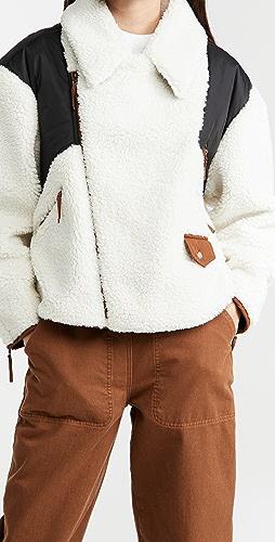FRAME - Fleece Mix Jacket