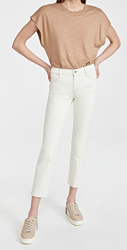 FRAME - Le High Straight Double Needle Jeans