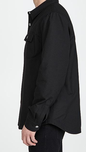 FRAME Woven Shirt Jacket