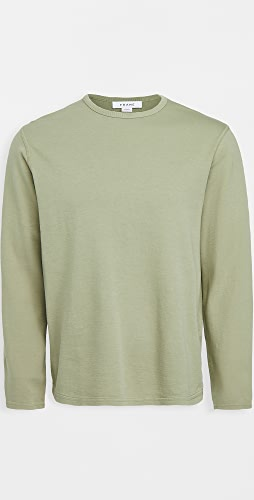 FRAME - Duo Fold Crew Neck Shirt