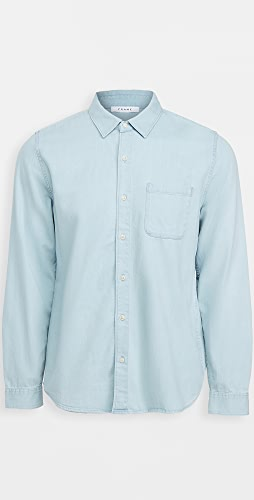 FRAME - Long Sleeve Button Down Shirt