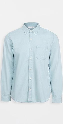 FRAME - Long Sleeve Button Down Shirt
