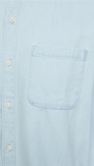 FRAME Long Sleeve Button Down Shirt