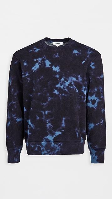 FRAME Tie Dye Sweatshirt