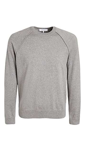 FRAME Luxe Crew Neck Sweater