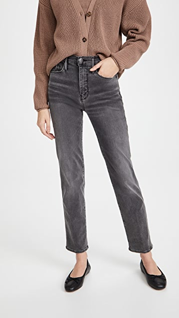 FRAME Le Sylvie Slender Straight Jeans