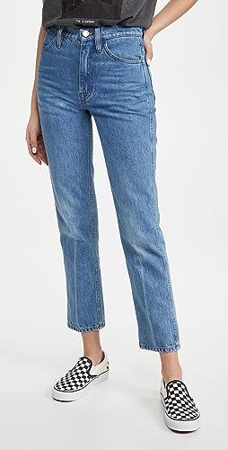 FRAME - Le Italien Straight Jeans
