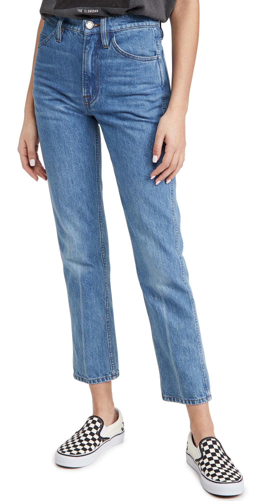 FRAME Le Italien Straight Jeans