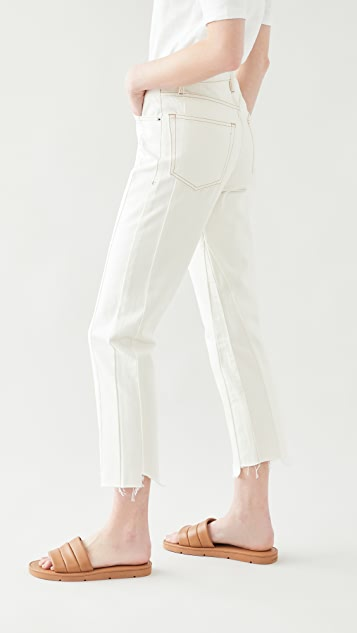 FRAME Le Original Jagged Edge Jeans